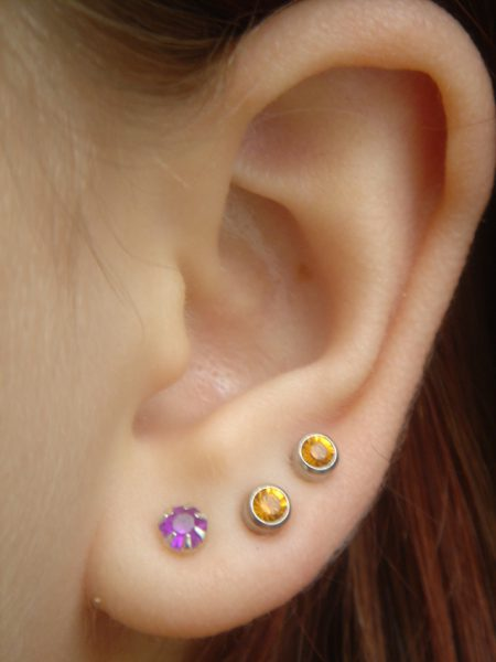 Studex Ear Piercing Stone Dermatology